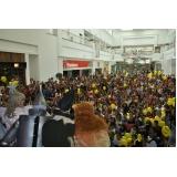 ação promocional mercado Jabaquara