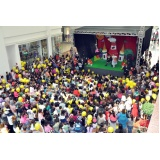 ações promocionais de inauguração Anália Franco