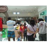 ações promocionais para shopping Água Branca