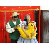apresentação de teatro infantil em aniversário Ipiranga