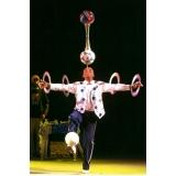 contratar evento circense com equilibrista Guarujá