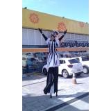 contratar evento circense com perna de pau Mogi das Cruzes
