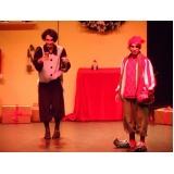 peça teatral empresarial Jaguaré