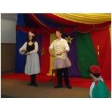 peça teatral infantil na escola preço Bairro do Limão