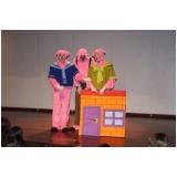 quanto custa apresentação de teatro infantil em aniversários Jardim Bonfiglioli