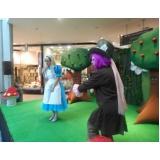 quanto custa teatro infantil para aniversário Água Rasa