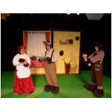 quanto custa teatro infantil para festas Ilhabela
