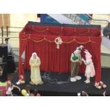 apresentação de teatro infantil em aniversários