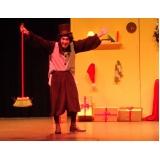 apresentação de teatro infantil na escola
