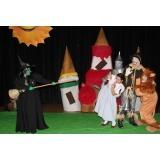 teatro infantil para aniversário preço Cubatão