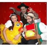 teatro infantil para aniversário Raposo Tavares