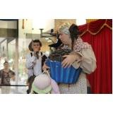 teatro infantil para escolas em sp preço Guarujá
