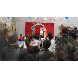 teatro infantil para escolas preço Vila Formosa