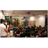teatro infantil para eventos em sp Jardim Bonfiglioli