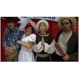 teatro infantil para festas preço Cubatão