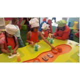 valor de oficina infantil para shoppings Interlagos