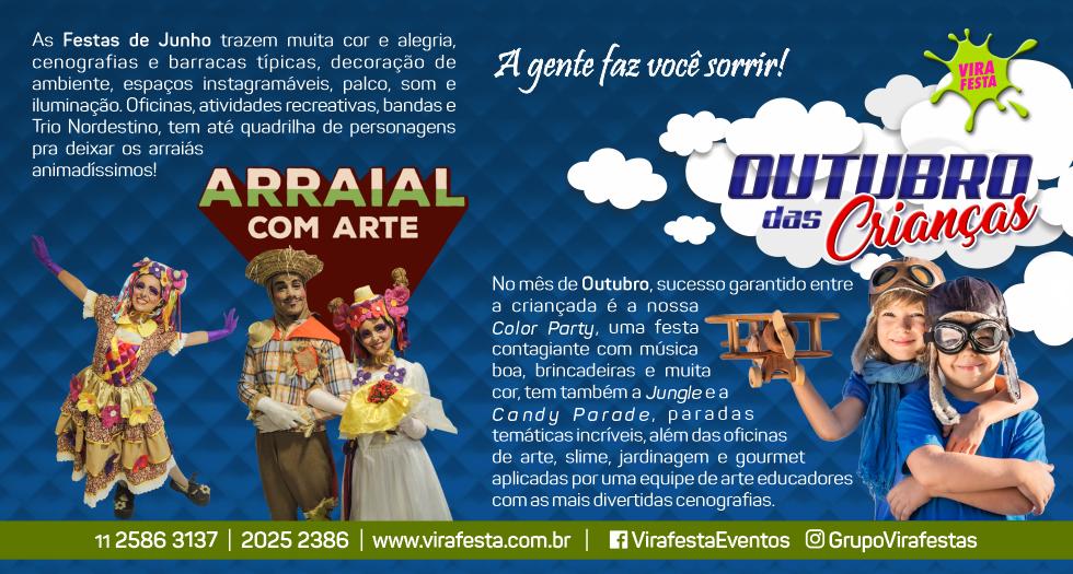 Vira Festas - Teatro Infantil